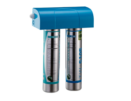 "TW-EV-2 Twin Filter Head For Ever Filter With Cover 3/8""(White/Blue/Lightblue/Lightgreen)"