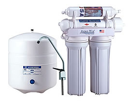 4 Stage Reverse Osmosis Water System Without Pump