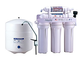 5 Stage CE Standard Reverse Osmosis Water System Without Pump
