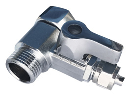 "Ball Valve Water Faucet Tap (3/8"" NPT,1/4"" TUBE)"